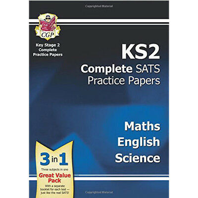 New KS2 Complete SATS Practice Papers Pack:Science, Maths & English for the 2016
