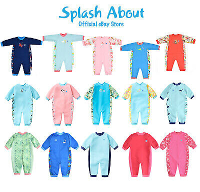 Splash About Baby Wetsuit - Warm In One Baby And Toddler Wetsuit