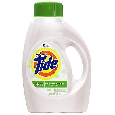 Procter & Gamble Tide Free & Gentle Non He- 100 Ounce