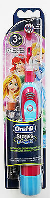 Braun Oral B  STAGES POWER Kids Girls Battery Toothbrush Disney Princess