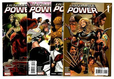 Ultimate Power #1-9 Complete Set (2007) Marvel VF/NM to NM