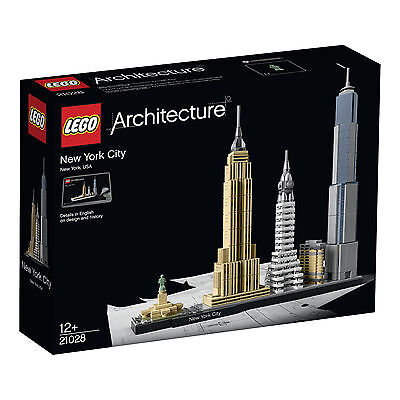 21028 Lego New York City Architecture Age 12-99 / 598 Pieces / New 2016 Release!