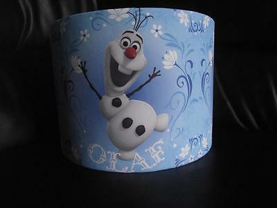 "Frozen Olaf D2 10"" Drum Ceiling Lampshade Lightshade"
