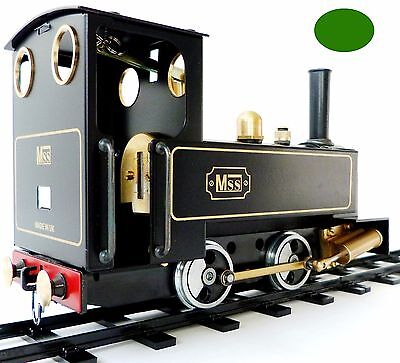 MSS LOCO 1 GAUGE STEAM ENGINE - KIT ONLY (see video of what's in the box)