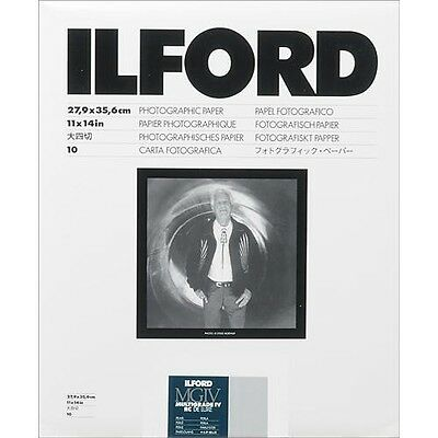 "Ilford Multigrade IV RC Black & White VC Paper 11x14"" Pearl 10 Sheets (1771550)"