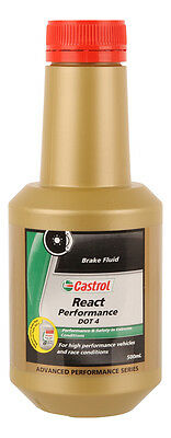 Castrol React Performance Brake Fluid DOT 4 500mL 3377737