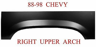 88 98 RIGHT Upper Wheel Arch Rust Reapir Chevy GMC Truck 1.2MM Thick 900-59R