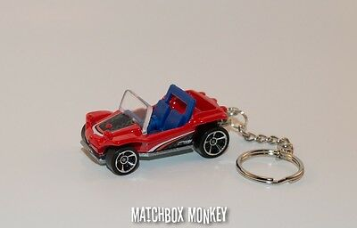 1/64 Meyers Manx Custom Keychain Key Ring FOB Llavero Dune Buggy ATV Scooter