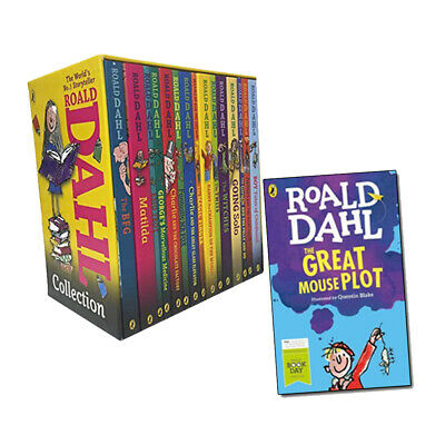 Roald Dahl 15 Books Collection With World Book Day 2016 The Great Mouse Plot NEW