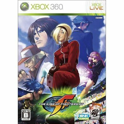 New Xbox360 The King of Fighters XII Japan Import