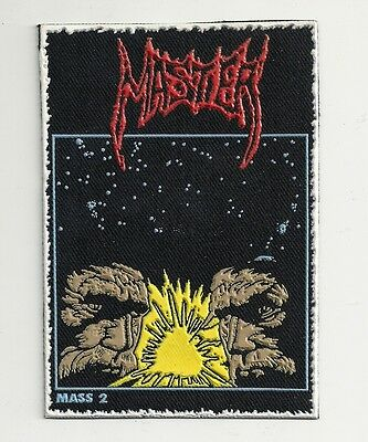 MASTER death metal synthetic rubber patch RARE!!!