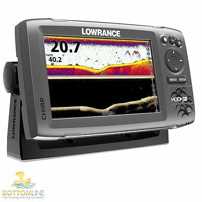 Lowrance HOOK 7x - CHIRP Fishfinder c/w Hybrid HDI CHIRP Downscan Transducer