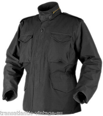 Helikon Genuine M65 Field Jacket With Liner Us Forces Army Coat Winter Black