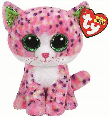 Sophie Pink Cat - Ty Beanie Boos 6 inch - TY Boo Plush Teddy - Brand New