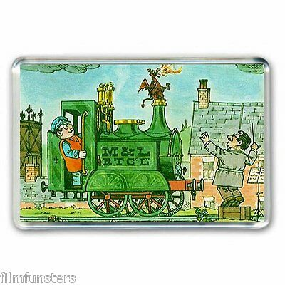 RETRO  60's NOSTALGIA  ' IVOR THE ENGINE' (CULT TV)  JUMBO Fridge Magnet