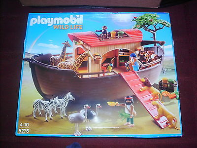 Playmobil  5276 Large Noah's Ark With Animals    (Brand New)