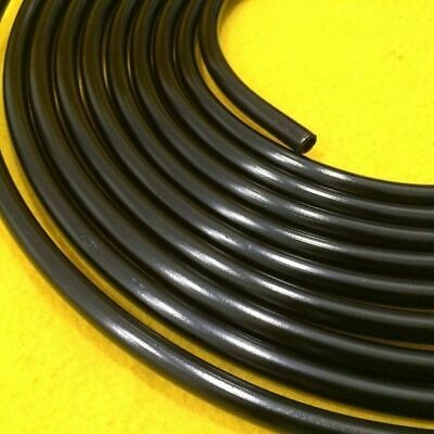 8AN 1/2x7.6m Aluminium Hard line Fuel Oil Water pipe Black 12.7 mm 66-3001