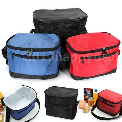 Portable Picnic Lunch Bag Insulated Storage Thermal Cooler For School Office UK