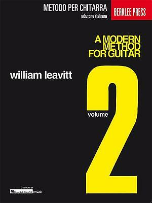 William Leavitt A MODERN METHOD FOR GUITAR VOL 2 - Edizione italiana