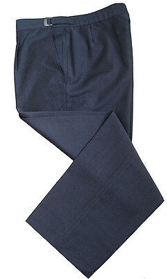 Men's Boys Grey Classic Trousers Office Formal Work Business School Smart 16-54""