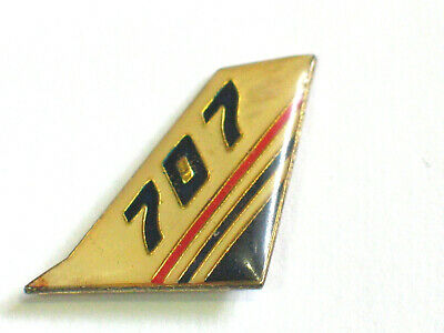Vintage Boeing 707 Aircraft Tail Piece Pin
