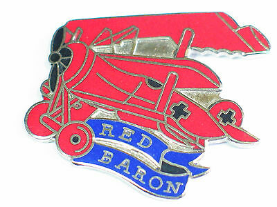 Red Baron Military Aircraft Pin