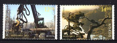Norway 2011 Europa Forests Set 2 MNH