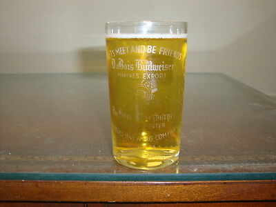 DuBois Budweiser Wurzberger pre-pro etched glass PA
