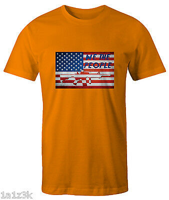 WE THE PEOPLE 2nd Amendment right to bare arms adult short sleeve shirt sm - 5xl