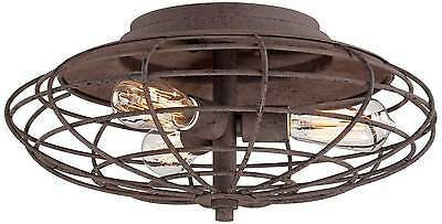 Industrial Style Cage Ceiling Light * Industrial Cage Ceiling Light *
