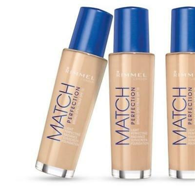 Rimmel Match Perfection Light Perfecting Radiance Foundation 30ml - Choose Shade