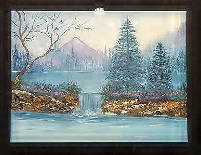 Contemporary Acrylic Painting on Canvas Signed Lititz, Pa. Artist