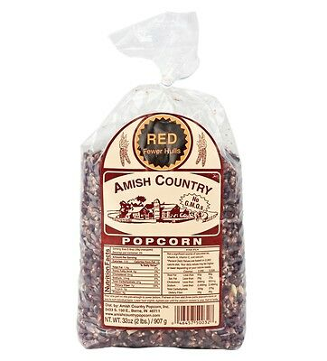Amish Country Red Popcorn - 2 Lb Package :: Free Expedited Shipping!