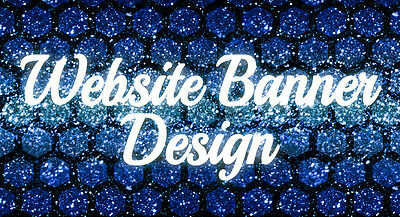 GET YOUR PROFESSIONAL WEBSITE BANNER -Graphic Design -professional service 100%