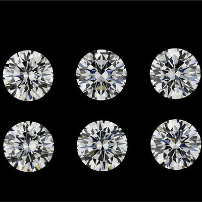 Wholesale Lots 20pcs Internally Flawless Loose Round Cubic Zirconia Stones AAA