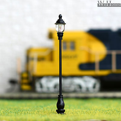 5 x OO / HO scale Model Railroad train Lamp posts Led street light Lamps #AD60S