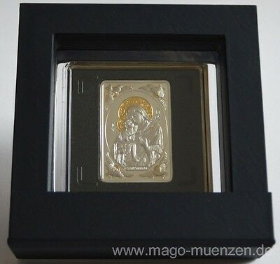 Belarus 20 Roubles 2011 Theotokos of Zhyrovichy Silver