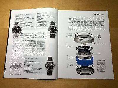 Revista Magazine WATCH INTERNATIONAL - IWC Schaffhausen - Edicion 2006 - ESP