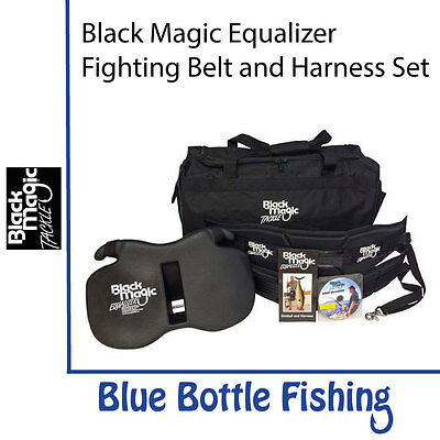 Black Magic Equalizer Fighting Belt and Harness Set - XLWide Gimbal/Standard ...
