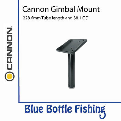 Cannon Downrigger Gimbal Mount 228mm Tube