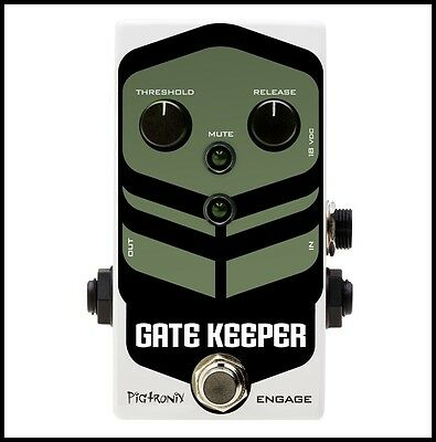 Pigtronix Gatekeeper Noise Gate Guitar Effects Pedal