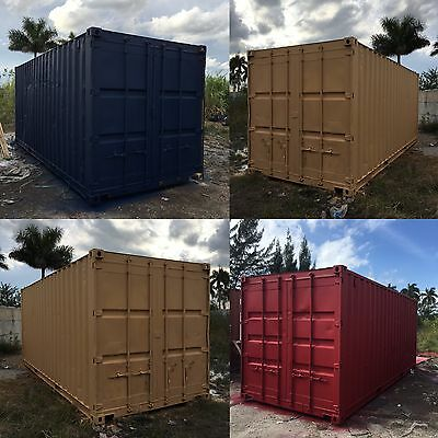 20 Foot Shipping Storage Container Houston Texas