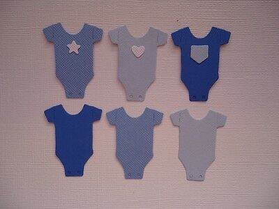Bodysuit Embellishment Die Cuts Baby Choose Colour Fully Assembled Scrapbooking