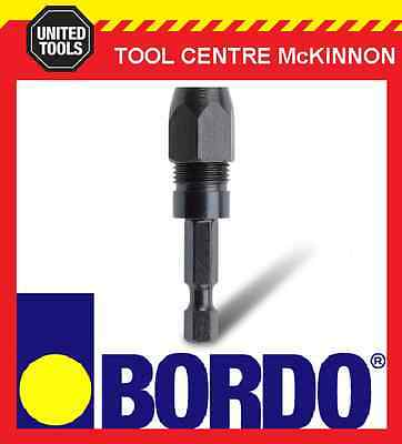 "Bordo ¼"" Hex Shank 1/8"" Snappy Style Drill Bit Adaptor / Holder"