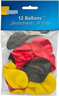Luftballons Luftballon Deutschland Germany EM WM Fußball Dekoration Party