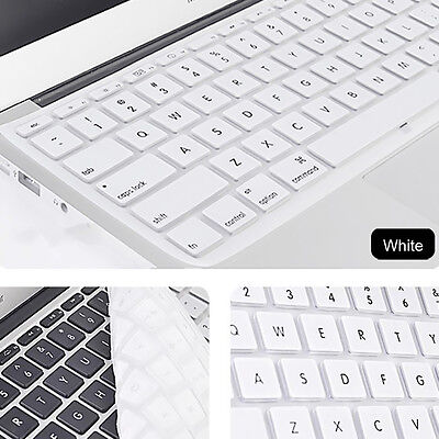 """Silicone Keyboard Cover Protector MacBook Pro 13"""" 15"""" 17"""" Retina not after 2015"""