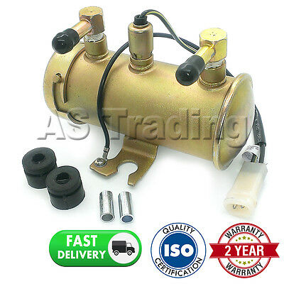 12V Electric Universal Petrol Diesel Fuel Fump Facet Red Top Style Tractor Boat
