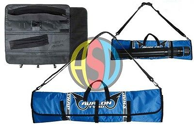 Archery Take-down Recurve Case Avalon Tyro Snap Compact Roll up Colour Choice