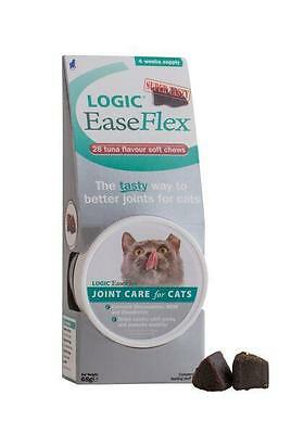 Logic EaseFlex For Cats 28 Soft Chews Tuna Flavour Premium Service Fast Dispatch