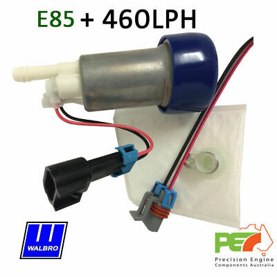 WALBRO 460LPH E85 In-Tank Fuel Pump+FITTING KIT FOR TOYOTA JZX90//100 Genuine
